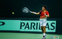 ẢNH: Lý Hoàng Nam ra quân thắng lợi tại Davis Cup