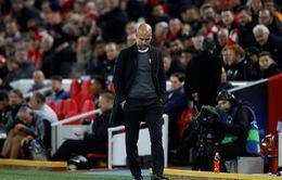 Thất bại nặng nề tại Anfield, Guardiola vẫn tin tưởng có thể ngược dòng