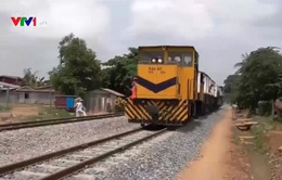 Campuchia khai trương đoạn đường sắt kết nối tuyến Xuyên Á