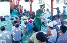 Nâng cao hiểu biết về luật biển cho ngư dân