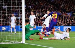 Barcelona hưởng lợi nhờ đối phương phản lưới nhà nhiều nhất Champions League