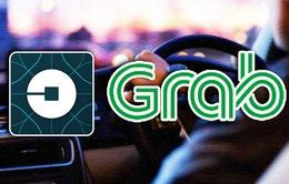 """Uber bị """"khai tử"""", app Grab liên tục bị treo và tăng giá cước"""