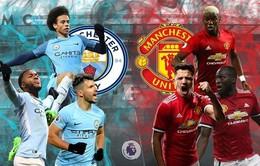 Lịch thi đấu, BXH trước vòng 33 Ngoại hạng Anh: Derby Manchester