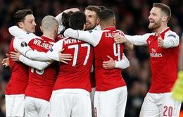 Arsenal giành chiến thắng giòn giã trước Sporting