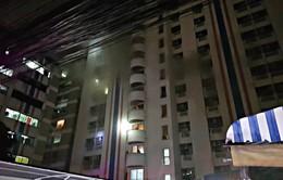 Không có người Việt Nam thiệt mạng trong vụ cháy chung cư ở Bangkok