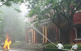 Thừa Thiên Huế tăng cường đảm bảo an toàn phòng cháy chữa cháy cho di tích