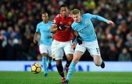 """Lịch trực tiếp bóng đá Ngoại hạng Anh vòng 33: Derby Manchester """"chốt hạ"""" ngôi vương?"""