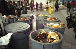 Báo động nạn lãng phí thực phẩm ở Bắc Mỹ