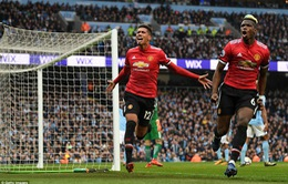 Vòng 33 Ngoại hạng Anh, Man City 2-3 Man Utd: Ngược dòng không tưởng!