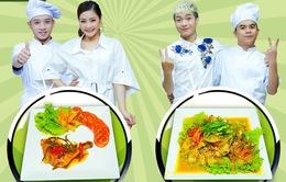 """Bộ đôi Hữu Đằng - Thu Trang hứa hẹn """"quậy tung"""" Đấu trường ẩm thực"""