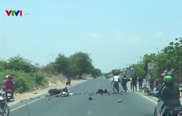 Tai nạn xe máy tại Bình Thuận, 4 người thương vong