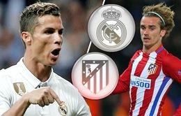 Real Madrid – Atletico Madrid: Những con số thống kê trước trận derby