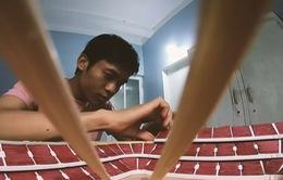 Chàng trai với niềm đam mê mô hình sân vận động