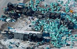 Xe bus chở đội khúc côn cầu trẻ ở Canada gặp tai nạn thảm khốc