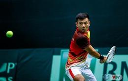 Lý Hoàng Nam tụt một bậc trên bảng xếp hạng ATP