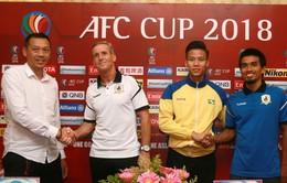 AFC Cup 2018: Quế Ngọc Hải và đồng đội quyết chiến thắng tặng NHM của SLNA