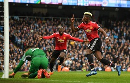 Bảng xếp hạng Ngoại hạng Anh sau vòng 33: Man Utd phá hỏng ngày vui của Man City