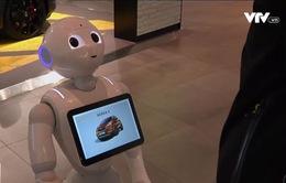 Robot có thể bán xe tự động
