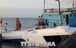 TP.HCM trục vớt tàu cao tốc C3 để tìm nguyên nhân sự cố