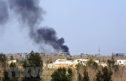 Sân bay quân sự ở miền Trung Syria bị không kích bằng tên lửa