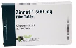Cảnh báo thuốc giả Zinnat 500mg Film Tablet trên thị trường