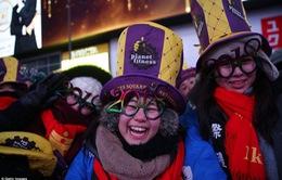 Từ Hà Nội, London đến New York: Thế giới rộn ràng chào đón năm 2018