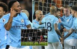 Kết quả bóng đá quốc tế rạng sáng 3/1: Man City trở lại mạch thắng, tái lập khoảng cách 15 điểm với Man Utd