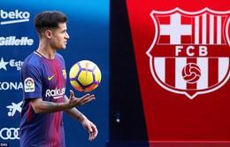 Sốc với số áo của Coutinho tại Barcelona
