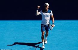 Vòng 1 Australia mở rộng 2018: Djokovic trở lại ấn tượng, Wawrinka đi tiếp