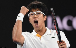 Australia mở rộng 2018: Hyeon Chung gây sốc khi loại Djokovic ở vòng 4