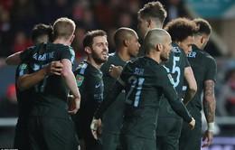 Kết quả bóng đá quốc tế sáng 24/1: Man City vào chung kết Cúp Liên đoàn, Sevilla đánh bại Atletico ở Cúp Nhà vua