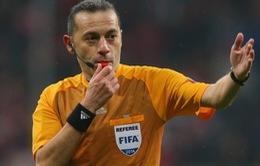 Trọng tài Cuneyt Cakir bắt chính trận lượt về Real Madrid - Bayern Munich