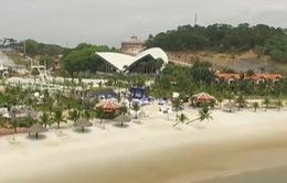 Công tác tổ chức chuyên nghiệp của BTC Giải bóng chuyền bãi biển nữ thế giới - Tuần Châu Hạ Long mở rộng 2018