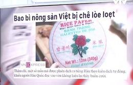Hàng Việt khó xuất ngoại vì... bao bì
