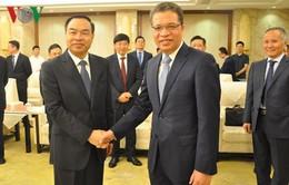 Đại sứ Việt Nam tại Trung Quốc làm việc với Thị trưởng Trùng Khánh