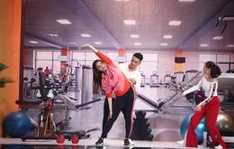 Kỳ Duyên tập thể dục đầy khiêu khích giành trai đẹp của Lan Ngọc