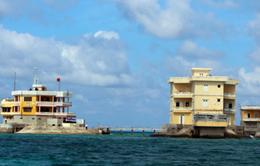"""""""Thủ đô trên biển"""" của ngư dân tại đảo Đá Tây A"""