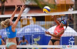Kết quả ngày 10/5 Giải bóng chuyền bãi biển nữ thế giới - Tuần Châu Hạ Long mở rộng 2018