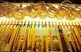 Giá vàng chững lại trên thị trường châu Á