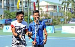 Thắng kịch tính, Hoàng Nam - Văn Phương vào chung kết đôi nam Việt Nam F2 Futures