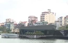 Mập mờ nhà hàng nổi hoạt động rầm rộ trên Hồ Tây