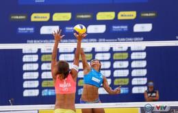 Giải bóng chuyền bãi biển nữ thế giới - Tuần Châu Hạ Long mở rộng 2018 (ngày 11/5)