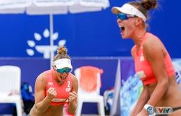 CHÙM ẢNH: Những khoảnh khắc ấn tượng trong ngày thi đấu 11/5 tại giải bóng chuyền bãi biển nữ thế giới - Tuần Châu Hạ Long mở rộng 2018