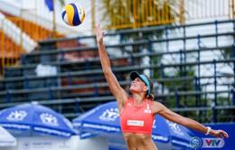 Ảnh: Những khoảnh khắc ấn tượng tại giải bóng chuyền bãi biển nữ thế giới - Tuần Châu Hạ Long mở rộng 2018 ngày 11/5