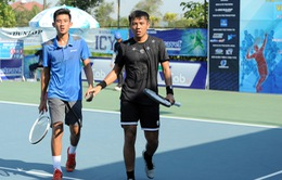 Lý Hoàng Nam và Văn Phương giành ngôi vô địch đôi nam Giải Quần vợt Vietnam F2