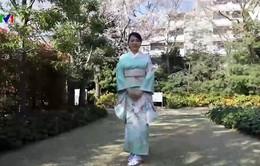 Gìn giữ truyền thống kimono Nhật Bản