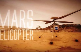 Trực thăng nhỏ khám phá sao Hỏa