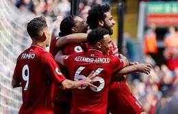 VIDEO Liverpool 4-0 Brighton: Salah đi vào lịch sử