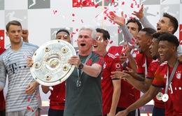 Vòng 34 Bundesliga 2017/18: Bayern thua sốc ngày nhận đĩa bạc, Hamburg lần đầu tiên xuống hạng