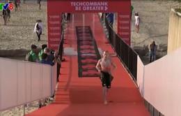Hơn 1.600 vận động viên từ 56 quốc gia tranh tài thi ba môn phối hợp Ironman tại Đà Nẵng